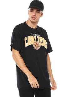 Camiseta Mitchell & Ness Cleveland Cavaliers Preta