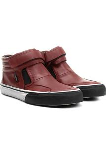 Tênis Couro Redley Ir Angels Leather - Masculino-Vinho