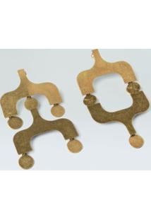 Brinco Ipanema-Dourado - Un