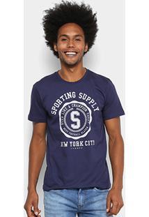 Camisetas Sommer Estampada Masculina - Masculino