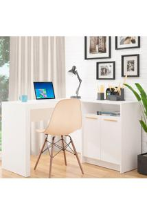Escrivaninha Frame Bc 65 Branca - Brv Móveis