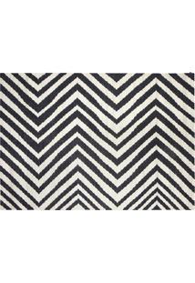 Kilim Zebra Black