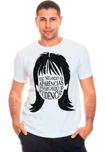 Camiseta Bloom Evidências Liverpool Masculina - Masculino-Branco