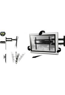 Suporte Inclinável Full Motion Universal Para Tv Lcd/Led/Plasma