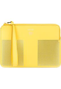 Tom Ford Clutch Com T Perfurado - Amarelo