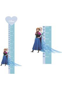 Adesivo Régua De Crescimento Anna E Elsa