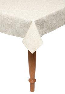 Toalha De Mesa Retangular Dohler Clean Eliete 1,40X2,10M Off White