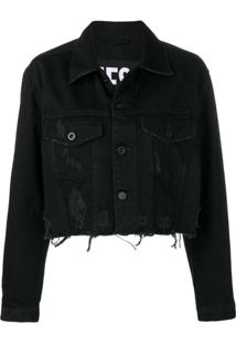 Diesel De-Poppy Denim Jacket - Preto
