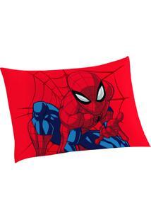 Fronha Spider Man®- Vermelha & Azul Marinho- 50X70Cmlepper