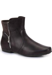 Ankle Boots Mooncity Zíper