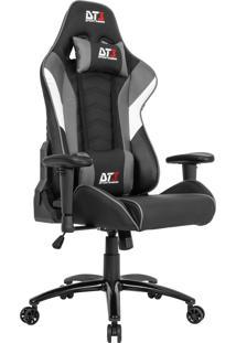 Cadeira Gamer Dt3Sports 10633-3 Elise Reclinável Preta E Cinza