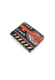 Carteira Elástico Perky Vellus Carpet Estampada - Kanui