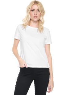 Camiseta Lunender Lisa Branca
