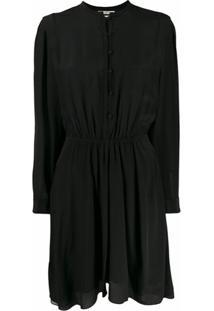 Isabel Marant Étoile Vestido Com Botões - Preto