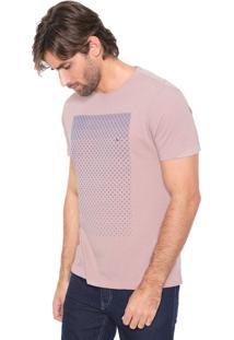 Camiseta Aramis Losango Rosa
