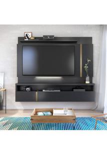 Painel Para Tv Até 60 Polegadas Com Led Florença Siena Móveis