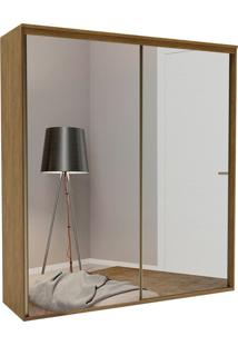Guarda-Roupa Casal Com Espelho Luminum Light 2 Pt 4 Gv Álamo
