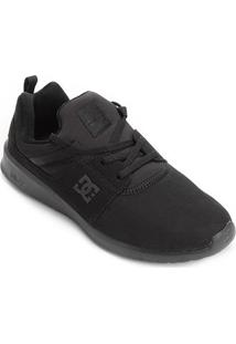 Tênis Dc Shoes Heathrow Masculino - Masculino-Preto