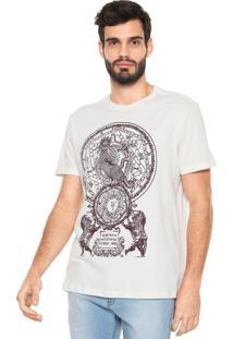Camiseta Reserva Estampada Off-White