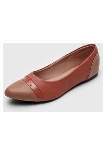 Sapatilha Dafiti Shoes Recortes Rosa