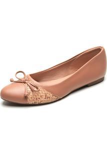 Sapatilha Dafiti Shoes Cobra Caramelo - Caramelo - Feminino - Dafiti