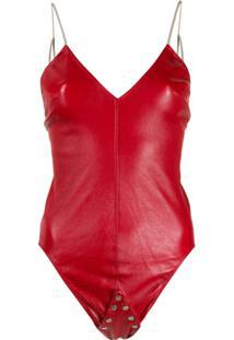 Rick Owens Body 'Sally' - Vermelho