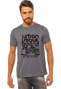 Camiseta Chumbo Estampada Masculina Joss - Urban Skate