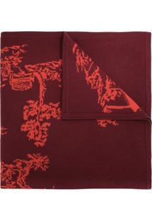 Shanghai Tang Echarpe Com Padronagem Chinoiseries - Vermelho