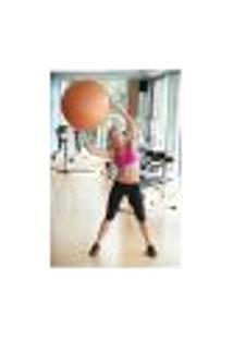 Painel Adesivo De Parede - Fitness - Pilates - 1456Pnp
