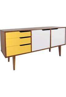 Buffet Strauss Amendoa 3 Gav 2 Port Branco C/Amarelo -19700 Sun House