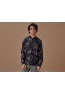 Camisa Ml Linho Dorival