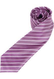 Gravata Colombo Masculina - Masculino-Rosa Escuro