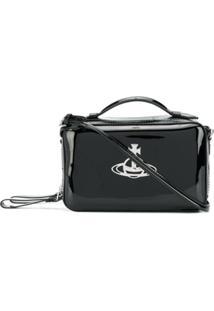 Vivienne Westwood Johanna Camera Bag - Preto
