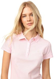 Camisa Polo Aeropostale Lisa Rosa