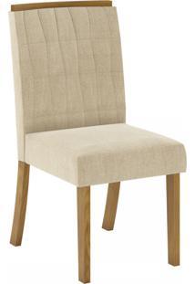 Cadeiras Para Cozinha Tauá Nature/Linho - Henn