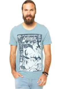 Camiseta Fashion Comics Dream Man Azul