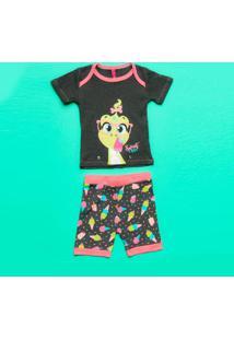 Pijama Dinossauro- Cinza & Rosapuket