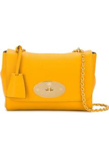 Mulberry Lily Small Shoulder Bag - Amarelo