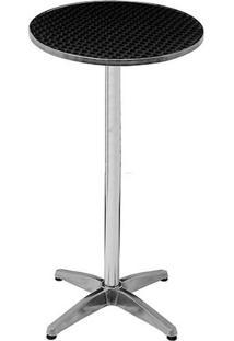 Mesa Para Bar 9118 Alumínio Com 2 Posições 60X70Cm - Mor