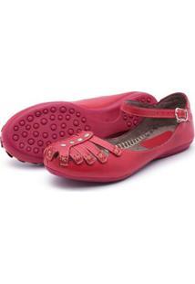 Sapatilha Feminina Top Franca Shoes - Feminino-Vermelho