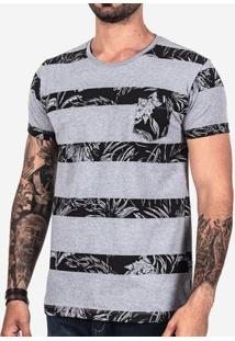 Camiseta Listras Tropical 101850