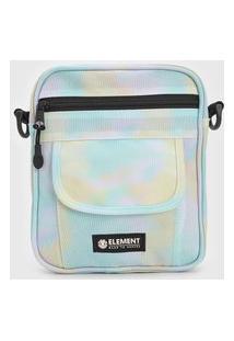 Bolsa Element Shoulder Bag Road Trip Verde/Amarela
