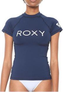 Camiseta Roxy Surf Summer - Feminino-Marinho