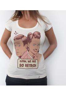 So Retro - Camiseta Clássica Feminina