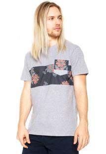 Camiseta Billabong Tribong Cinza