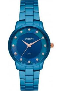Relógio Orient Analógico Fass0003 D1Dx Feminino - Feminino-Azul
