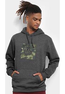 Moletom Hang Loose Logoarmy Canguru Masculino - Masculino-Mescla Escuro