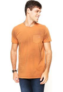 Camiseta Colcci Bolso Caramelo