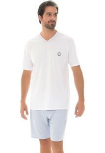 Pijama Masculino Recco Malha Prima 09494 - Masculino