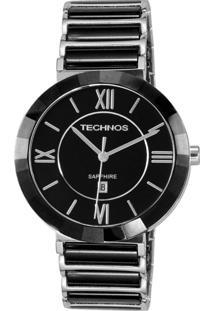 Relógio Technos Feminino Ceramic Saphira 2015Bx/1P